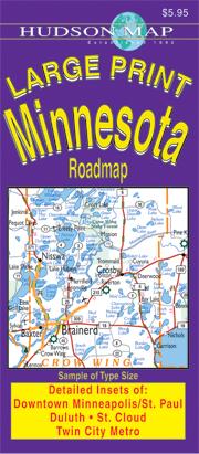 Hudsons Minnesota Highway Maps